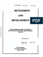 Resettlement and Development