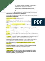 Material de Estudo Pensamento e Linguagem