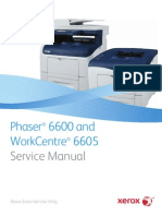 Xerox 6600 Service Manual