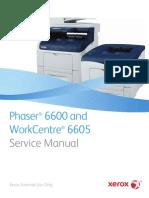 Xerox 6600 Service Manual