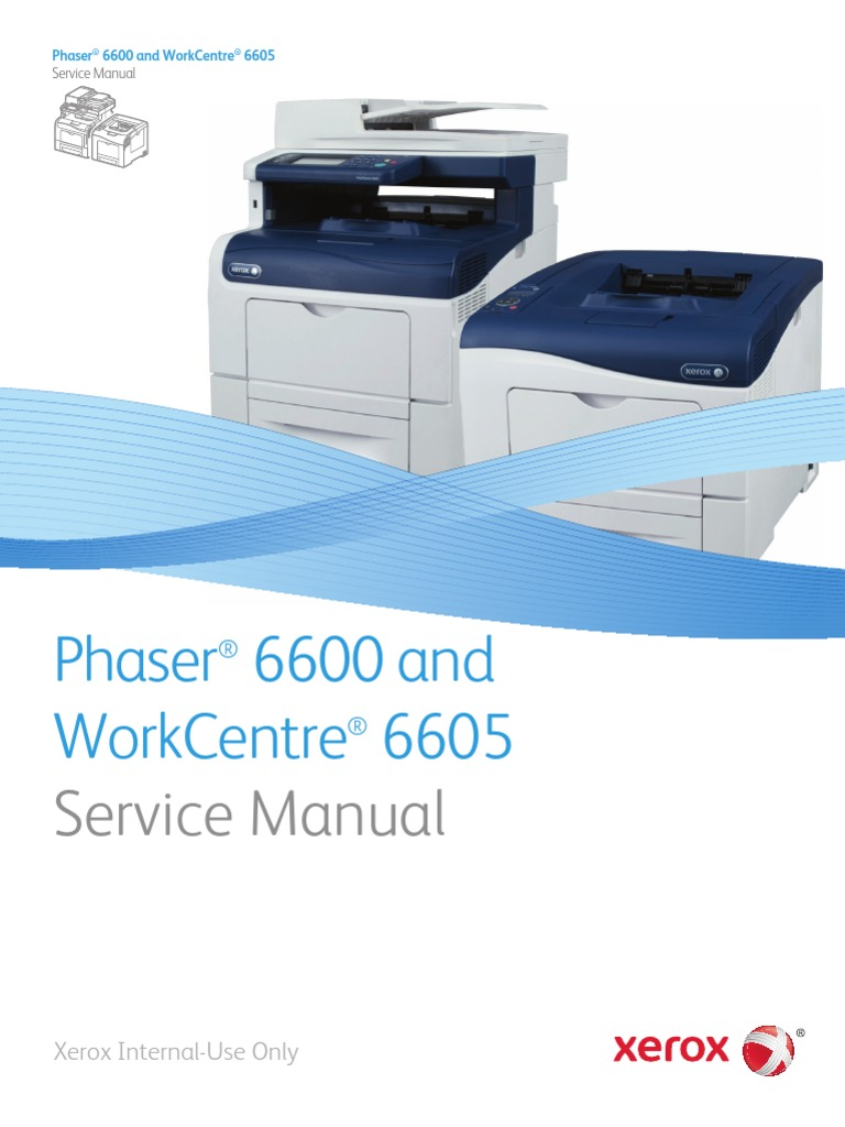 xerox 6600 service manual electrostatic discharge computer rh es scribd com