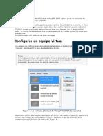 Configurar El Virtual PC 2007