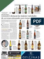 Sommeliers, Catas de Cerveza Artesanal