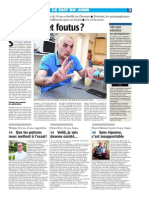 Article Charente Libre