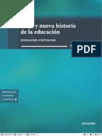 Vieja y nueva historia de la educación