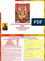 2013 2014 India Panchang Sravana