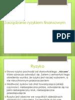 Zarządzanie ryzykiem finansowym (1)