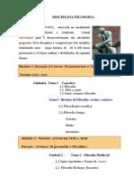 Apresentaçao 2 disciplina_Filosofia  1sem_2014