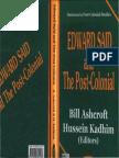 Bill Ashcroft, Hussein Kadhim-Edward Said and the Post-Colonial (2002)