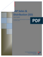 SAP SD User Manual[1]