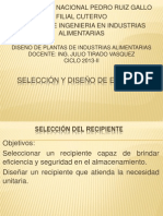 DP 4-Seleccion de Recipientes