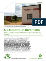 A Dangerous Diversion