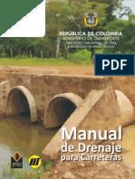 MANUAL DE DRENAJE PARA CARRETERAS, Instituto Nacional de Vías de Colombia, 2009. 528p.