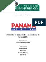 Propuestas Electorales Panama