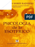 Osho - Psicologia de Lo Esoterico