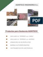 Catalogo Productos Geotecnia Aginteco