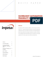 qLabs SilverLight Automation Feasibility Study