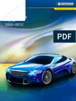 Nexa Autocolor Ford Colour Codes 2002 to 2012