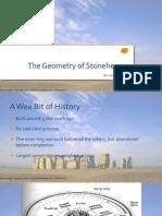 geometry project - stonehenge
