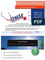 SOS Guide No. 03 Microsoft Office PowrPoint
