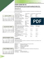 Academic CalendartheCSU