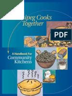 Winnipeg Cooks Handbook for Community Kitchens