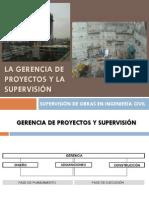 SESION 2 GERENCIA DE PROYECTOS Y SUPERVISIÓN