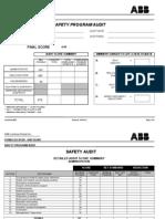 Safety Audit Plan