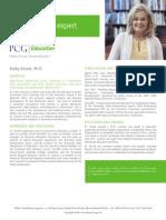 Kathy Strunk, Ph.D., PCG Education Subject Matter Expert