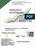 INGRESOS PÚBLICOS Y GESTIÓN TRIBUTARIA (UNIDAD III)