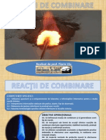Reactii de Combinare