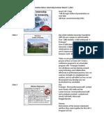 capc internship presentation notes