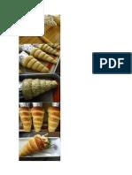 pão em formato de cenoura.