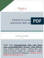 Peristilahan Bahasa Melayu