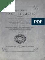 Brasseur de Bourbourg - Bibliothèque mexico-guatémalienne (1871)