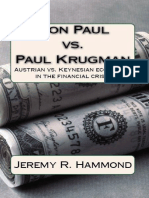Ron Paul vs. Paul Krugman_ Austrian vs. Keynesian Economics in the Financial Crisis - Hammond, Jeremy