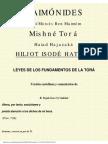 Maimonides - Leyes de los fundamentos de la Torah.pdf
