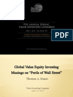 Tom Russo Global Value Equity Investing