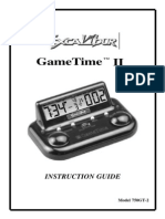 Excalibur Clock Manual
