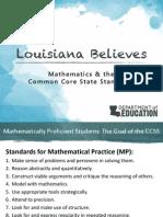 Parent University_CCSS Math