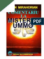 COMENTARIU LA MISTERUL UMMO MIRAHORIAN