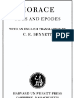 Horace - Volume I. Odes and Epodes