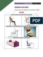 7832255 Proper Postures Body Mechanics