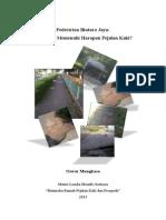 Pedestrian Bintaro Jaya. Sudahkan Memenuhi Harapan Pejalan Kaki