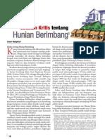 Catatan Kritis tentang Hunian Berimbang