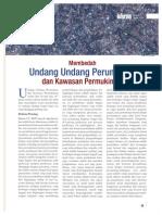 Membedah Undang Undang Perumahan dan Kawasan Permukiman