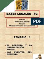 Tema 1 El Derecho y La Organizacion Social