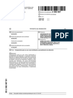 Conchas de Mejillon Patente Nueva