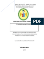 ESQUEMA DE PROYECTO DE INVESTIGACIÓN UNHEVAL