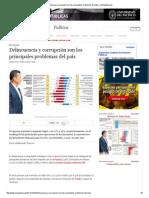 Delincuencia y corrupción son los principales problemas del país _ LaRepublica.pdf